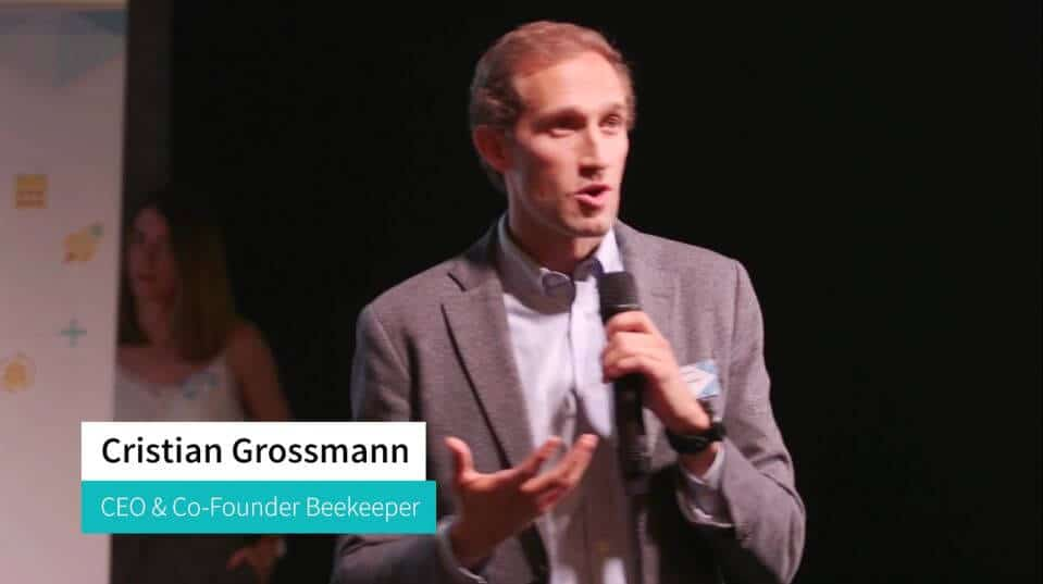 Beekeeper AG Eventvideo Christian Grossmann